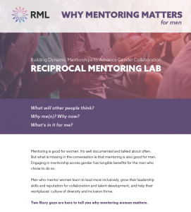 Reciprocal Mentoring RML Greatheart Inclusive Leader 3